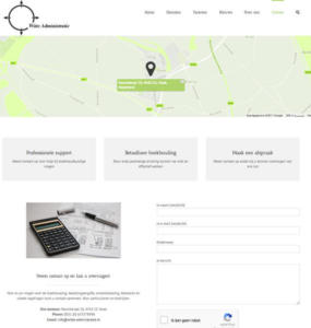 Contact Witte administratie